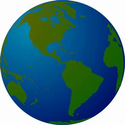 Globe Earth Clip Clipart Map Vector Cartoon