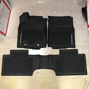 Toyota All Weather Floor Mats by 2016 2017 Toyota Tacoma 3pc Oem All Weather Floor Liners