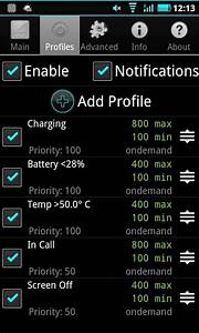SetCPU Lets You Set The Speed of Your Android Phone Processor
