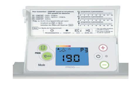 radiateur chaleur douce inertie decofonte 2 digital prog h 1500w airelec ref a692225