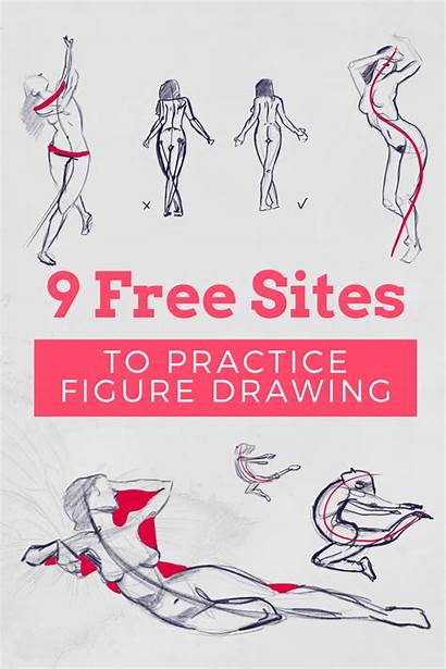 Reference Drawing Human Pose Figure Practice Gesture