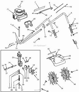 Mantis Tiller 2 Cycle Diagram
