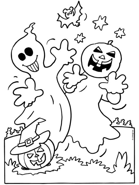 Kleurplaat Spook by Kleurplaat Spook