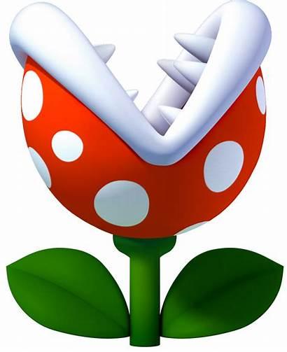 Mario Plant Piranha Bros Super Clipart Flor