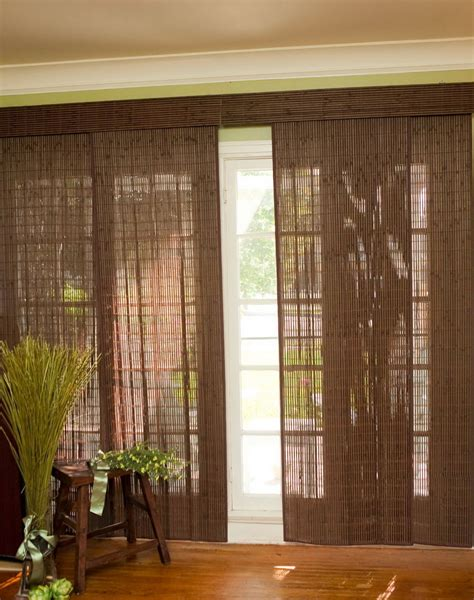 window coverings for patio sliding glass doors home