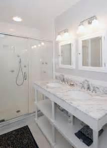 Marble Hexagon Floor Tile Amazon by Modern Full Bathroom With Undermount Sink Amp Simple Granite