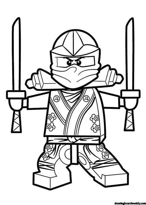 ninjago coloring pages printable drawing board weekly