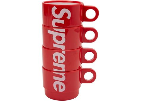 Deadstock coffee is a consumer based company that provides coffee. Supreme Stacking Cups (Set of 4) | Hype Vault