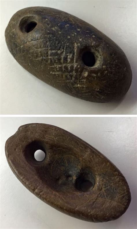 native american artifacts engraved loaf stone north