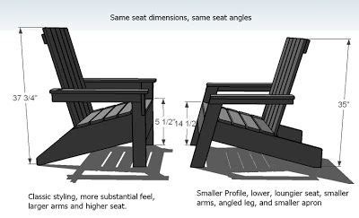 modern adirondack chair adirondack chair plans diy