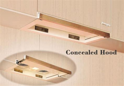 island hoods kitchen cabinet range concealed design pacific