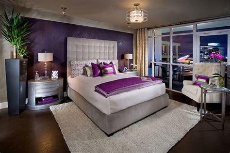 chambre mauve et blanc chambre violette 20 idées décoration pour un chambre