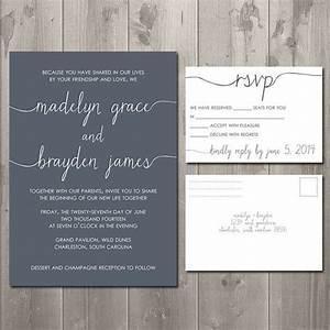 Rsvp Cards For Wedding Invitations Wording – Wedding ...