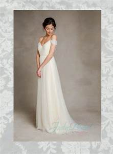 soft light flowy tulle off shoulder wedding dress 2322248 With light flowy wedding dresses