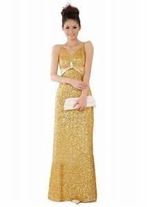 i love Cutest long full length gold sequin prom dresses ...