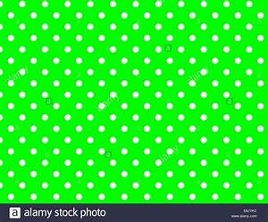Lime green background with white polka dots. jpg Stock ...