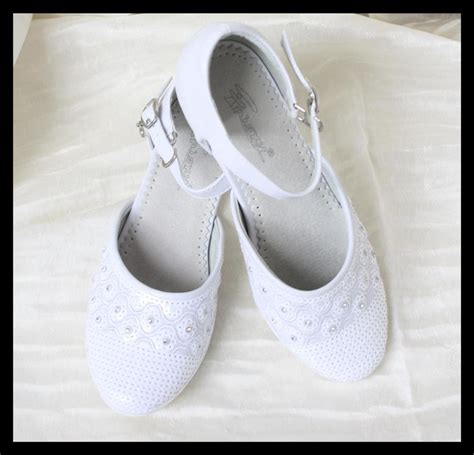 wedding shoes for flower white formal dress wedding shoes bridesmaid 1113