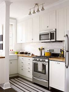 Small White Kitchens