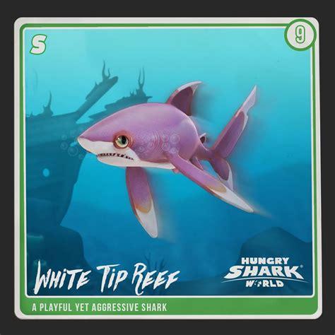 hungry shark world white tip reef shark