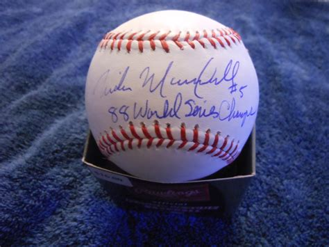 Dodger Ramblings Mike Marshall Autograph Appearance