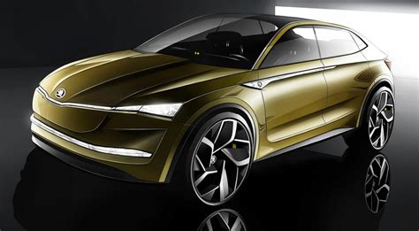 Skoda Visione Electric Concept Teased For Shanghai Debut