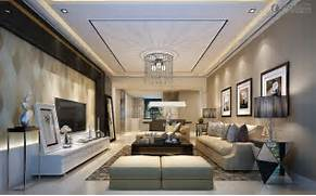 Modern Look Living Room by Modern Living Room Ceiling Designs Images