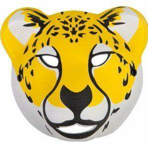 kids leopard mask animal halloween costumes pinterest With cheetah face mask template
