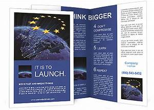 NASA Earth map union Brochure Template & Design ID ...
