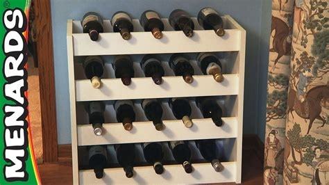 How To Build A Wine Cabinet by Wine Rack How To Build Menards