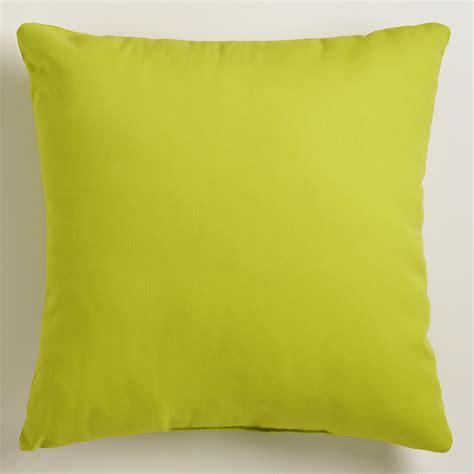 green throw pillows green outdoor throw pillow world market