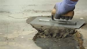 locher in betonboden reparieren epoxidharzmortel youtube With französischer balkon mit garten wand verkleiden