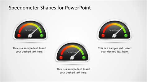 animated dashboard speedometer template  powerpoint