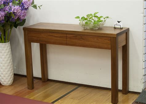 Narrow Sofa Table Australia by B W Solid Wood Furniture Australia Made