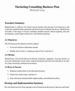 29 free business plan templates free premium templates With business plan template for consulting firm