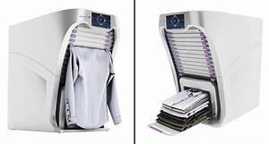 Machine À Sécher Le Linge : le r ve de tous enfin une machine qui s che repasse et plie le linge ~ Melissatoandfro.com Idées de Décoration