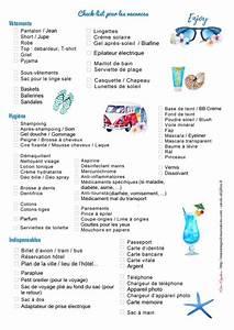 To Do List Déménagement : liste valise vacances t liste pour partir en vacances avec b b thecherryonthecake ~ Farleysfitness.com Idées de Décoration