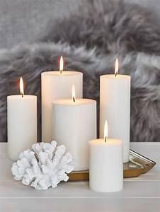 Pure, Stearin, Pillar, Candles