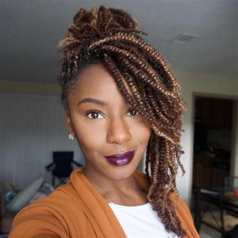 Different Hairstyles For Twists 30 twists hairstyles to try in 2017 light