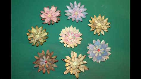 papierblumen blumen aus papier kinderleicht youtube