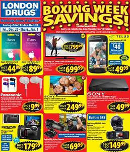 London Drugs Boxing Day Boxing Week Flyer 2014