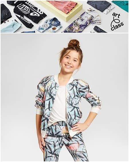 TARGET NEW 'ART CLASS' KIDS CLOTHES BRAND IS DESIGNED BY