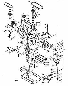 Craftsman 20 U0026quot  Drill Press Parts