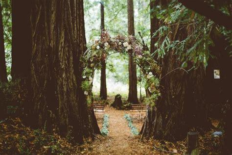 magical estate wedding   middle   redwood forest