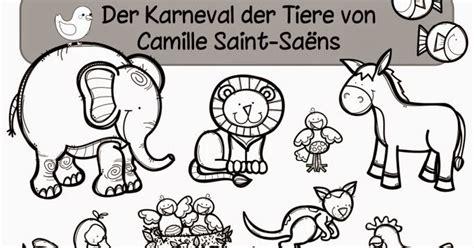 """Ideenreise Arbeitsheft Zum """"karneval Der Tiere"""" Von"""