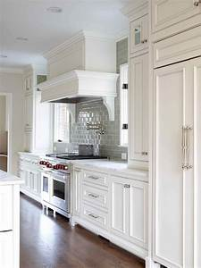 White Gray Glaze Kitchen Island With Gray Marble Counter