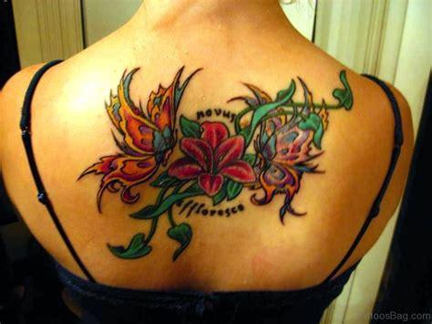 87 Tremendous Vine Tattoos On Back