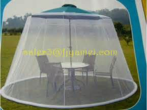 outdoor umbrella table screen netting 9 ft mosquito patio