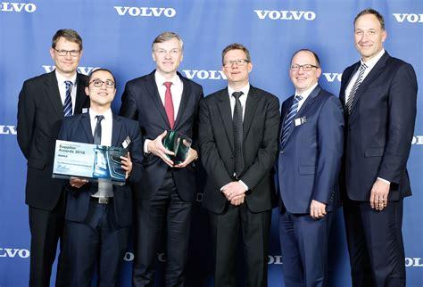 volvo group global mahle konzern mahle mit volvo supplier award für