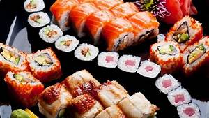 Sushi HD Wallpaper - WallpaperFX