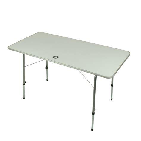 table pliante pied reglable